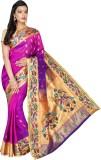 Mahila Silks Embroidered Paithani Art Si...