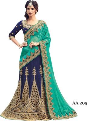 sahaj Embellished Bollywood Net, Dupion Silk Sari