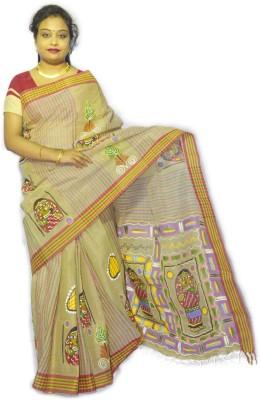 Fashion Gallery Floral Print Tangail Cotton Sari