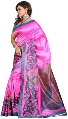 Fabiola Trendz Embriodered Fashion Handloom Art Silk Sari