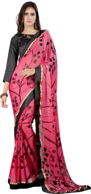 Moiaa Embellished Fashion Brasso Sari