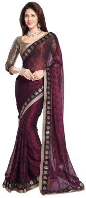 JK Creation Embriodered Bollywood Georgette Sari