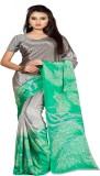silvermoon Printed Daily Wear Crepe Sari...