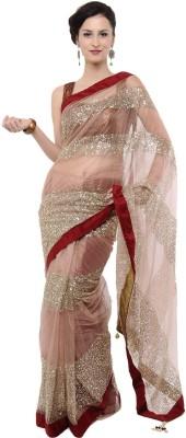 Bikaw Self Design Bollywood Net Sari