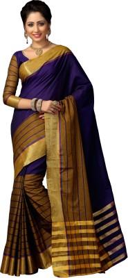 Signature Fashion Plain Daily Wear Cotton Sari