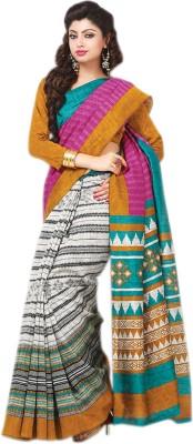 Thankar Printed Fashion Poly Silk Sari