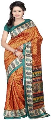 Majestic Silk Printed Fashion Silk Sari