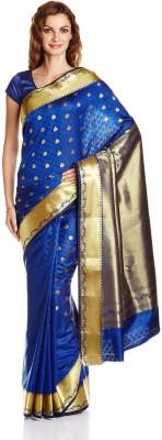 Aryahi Self Design Fashion Tussar Silk Sari
