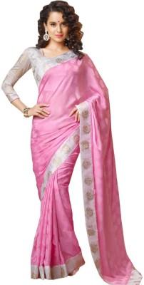 Nyalkaran Self Design Bollywood Silk Sari