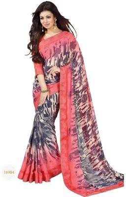 Divazz Striped Fashion Georgette Sari
