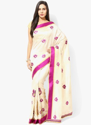 Aryahi Embriodered Fashion Art Silk Sari