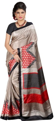 HRK Enterprise Printed Bhagalpuri Art Silk Sari