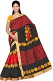 Mathura Printed Paithani Polycotton Sare...