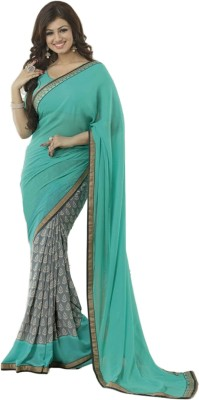 Sonani Exports Self Design Bollywood Georgette Sari