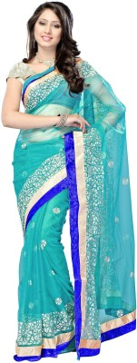 Thelibazz Self Design Fashion Net Sari