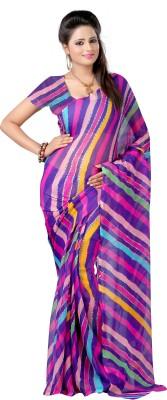 Kanya Self Design Leheria Chiffon Sari