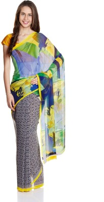 Aryahi Printed Daily Wear Georgette Sari