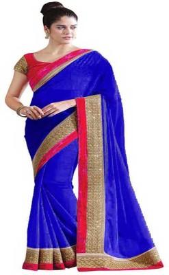 HIRA CREATION Self Design Fashion Satin Sari