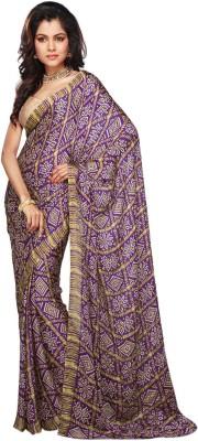 Utsav Fashion Printed Fashion Crepe Sari