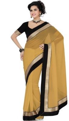 Navyou Plain Fashion Dupion Silk Sari