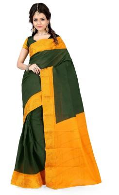 Anwesha Sarees Printed Banarasi Cotton Sari