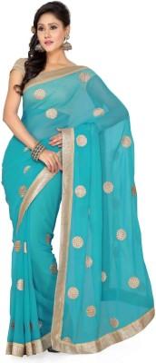 Deepika Couture Self Design Bollywood Chiffon Sari