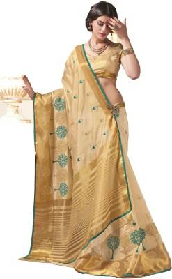 Rajshri Fashions Woven Venkatagiri Silk, Dupion Silk Sari