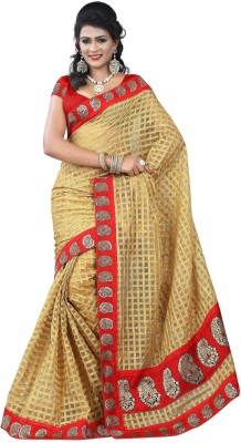 Vardhman Synthetics Printed Fashion Jute Sari