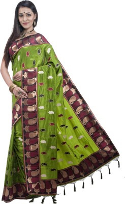 Bani Vastralaya Embriodered Bollywood Silk Sari