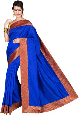 Shree Store Plain Fashion Handloom Cotton Sari