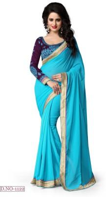 Twinsbirds Plain Fashion Marble Padding Sari