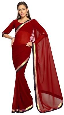 Amar Enterprise Embriodered Daily Wear Georgette Sari