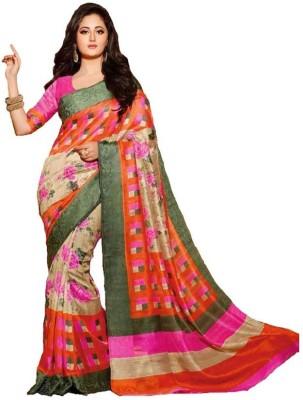 Sathiya Print Printed Bhagalpuri Art Silk Sari