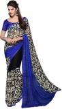 Shaily Printed Fashion Georgette Saree (...