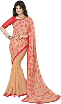 Shree Plus Printed Daily Wear Georgette Sari
