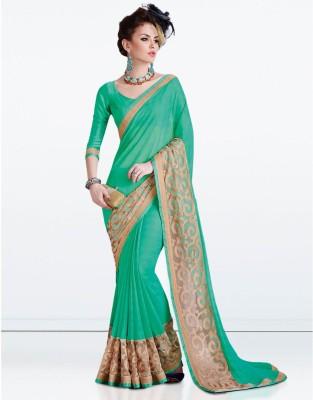Zemi Self Design Fashion Georgette Sari
