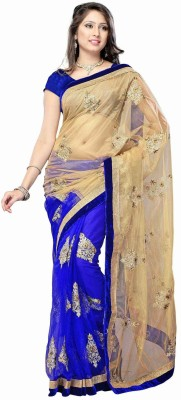Ganesh Group Embriodered Bollywood Net Sari
