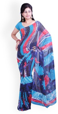 Glamoroussurat Fashion Embriodered Bollywood Georgette Sari
