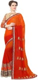Smartlook Printed Bollywood Georgette Sa...