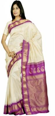 Appu Woven Gadwal Handloom Pure Silk Sari