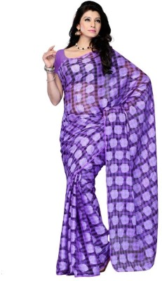Dream Saree Printed Daily Wear Net Sari