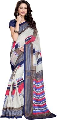 Fabliva Printed Fashion Silk Sari