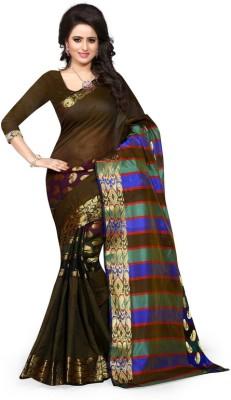 The Fashion World Woven Fashion Art Silk Sari