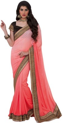 Kintu Designs Pvt. Ltd. Plain Fashion Silk Sari