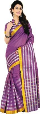 Jannat Striped Fashion Cotton Sari