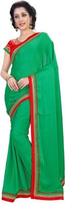 Fashion Self Design Fashion Chiffon Sari