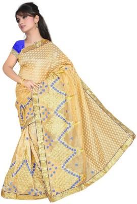 Ruchifashion Embriodered Fashion Cotton Sari