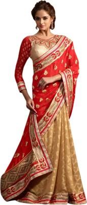Roopleela Printed Bollywood Jacquard Sari