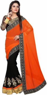 ShoppingSarees Self Design Bollywood Chiffon Sari