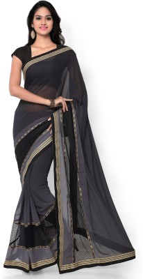 Shree Parmeshwari Self Design Bollywood Georgette Sari